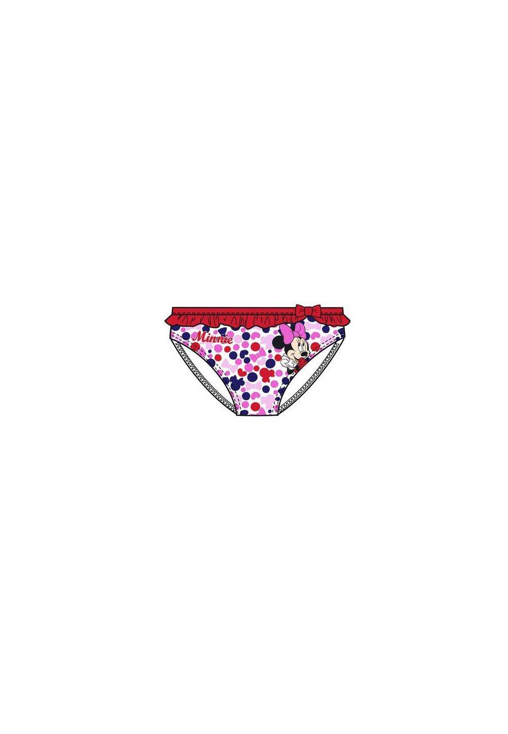 Slip de baie, Minnie, rosu imagine