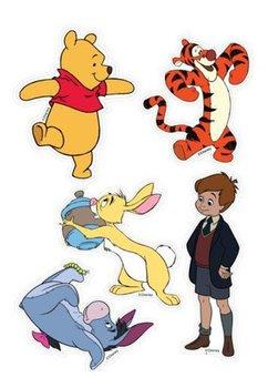 Stickere perete, Winnie the pooh
