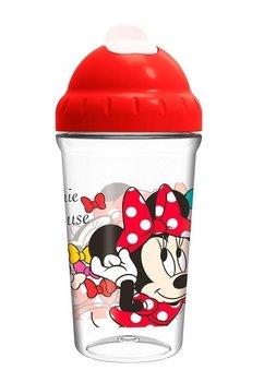 Sticla cu pai, Minnie Mouse, rosie, +10luni