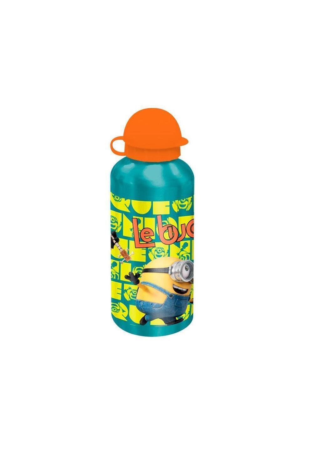 Sticla de aliminiu, Minions, cu capac portocaliu imagine