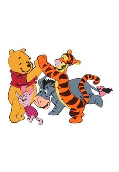 Stiker perete, Winnie and friends