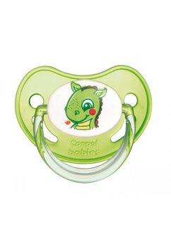 Suzeta Canpol cu tetina din silicon, 6-18 luni, dragon