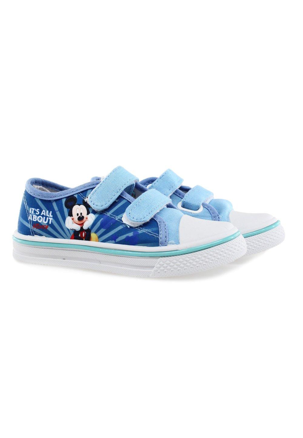 Tenisi cu scai, All about Mickey, albastru deschis imagine