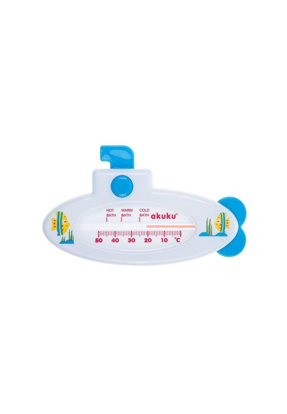 Termometru baie, submarin, alb imagine