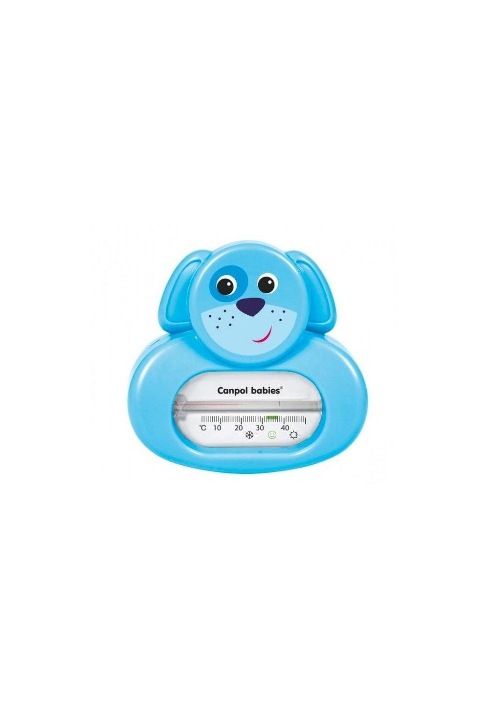 Termometru pentru baie, catel, albastru imagine