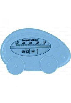 Termometru pentru baie, masinuta, albastra 2/784