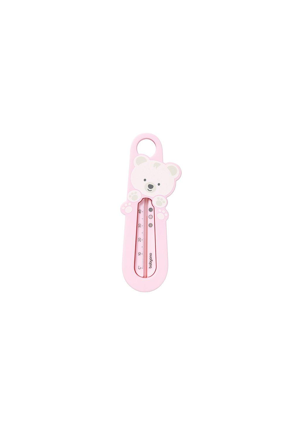 Termometru pentru baie, ursulet roz imagine