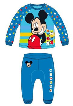 Trening bebe, Mickey, albastru cu dungi