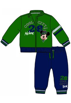 Trening bebe, Mickey Mouse, verde