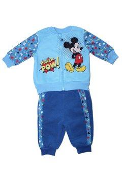Trening bebe, Mickey, power pow, albastru