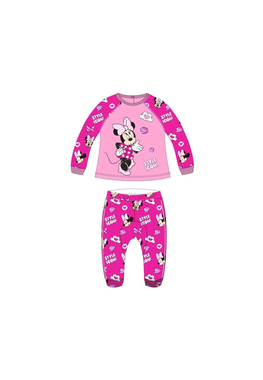 Trening bebe, Minnie, Style icon, roz imagine
