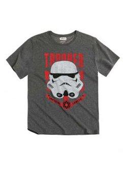 Tricou barbati Star Wars, gri