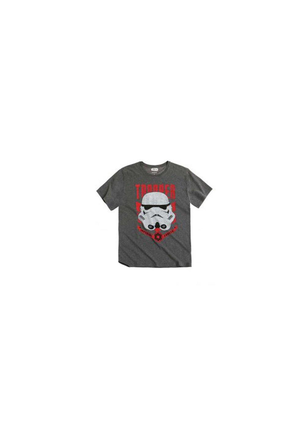 Tricou barbati Star Wars, gri imagine