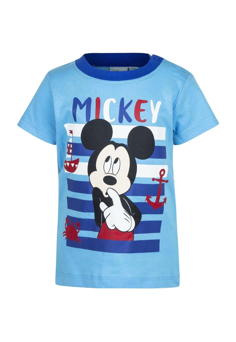 Tricou bebe, albastru, Mickey