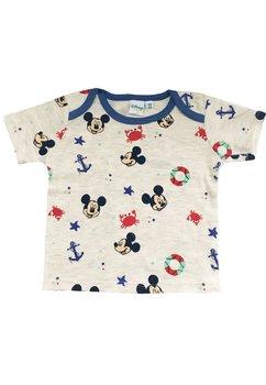 Tricou bebe, Mickey, ancore, crem