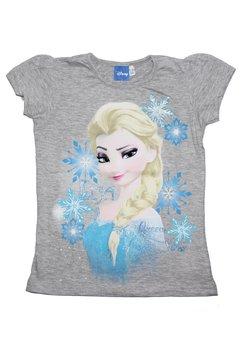 Tricou Elsa, Queen of snow, gri