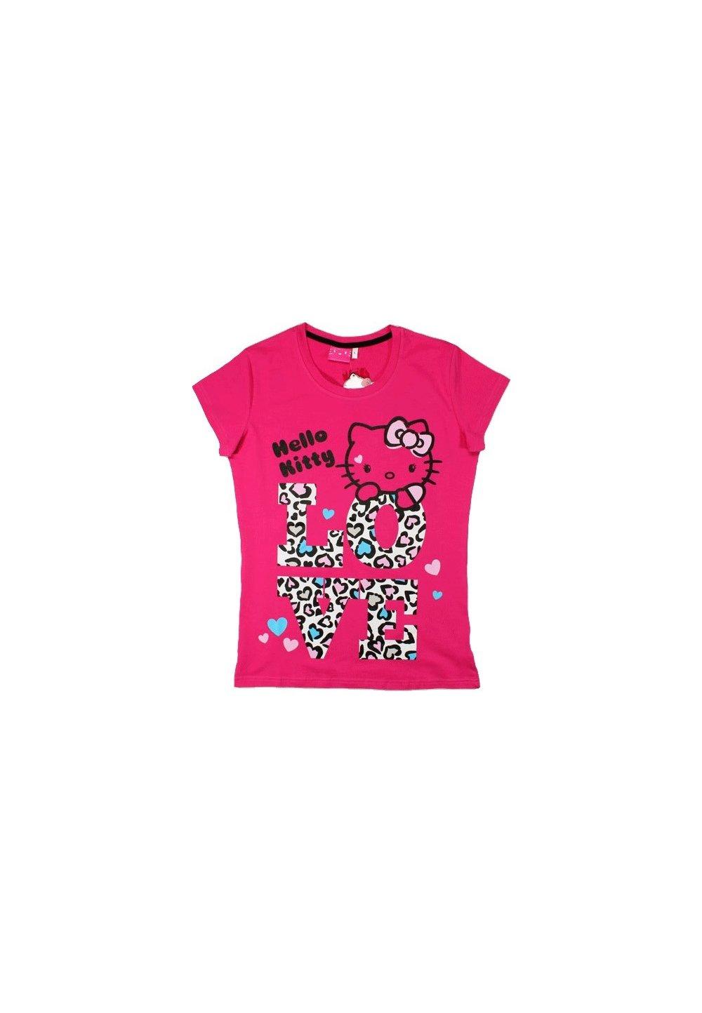 Tricou femei, Hello Kitty, roz imagine