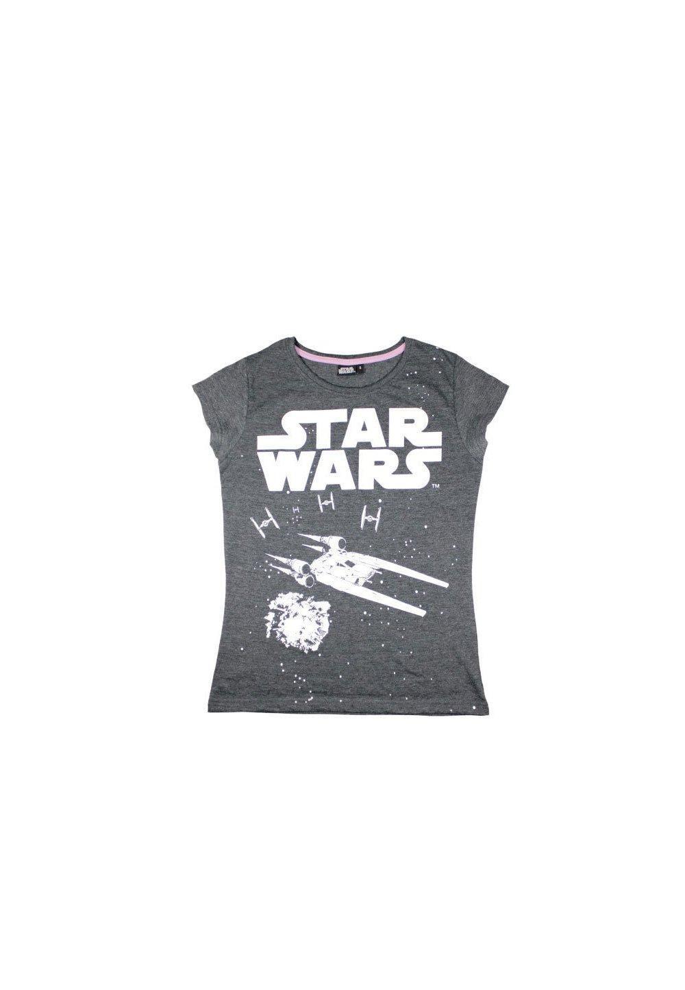 Tricou femei, Star Wars, gri imagine