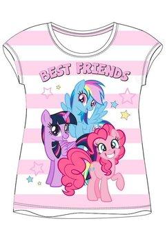 Tricou roz cu dungi, Best friends