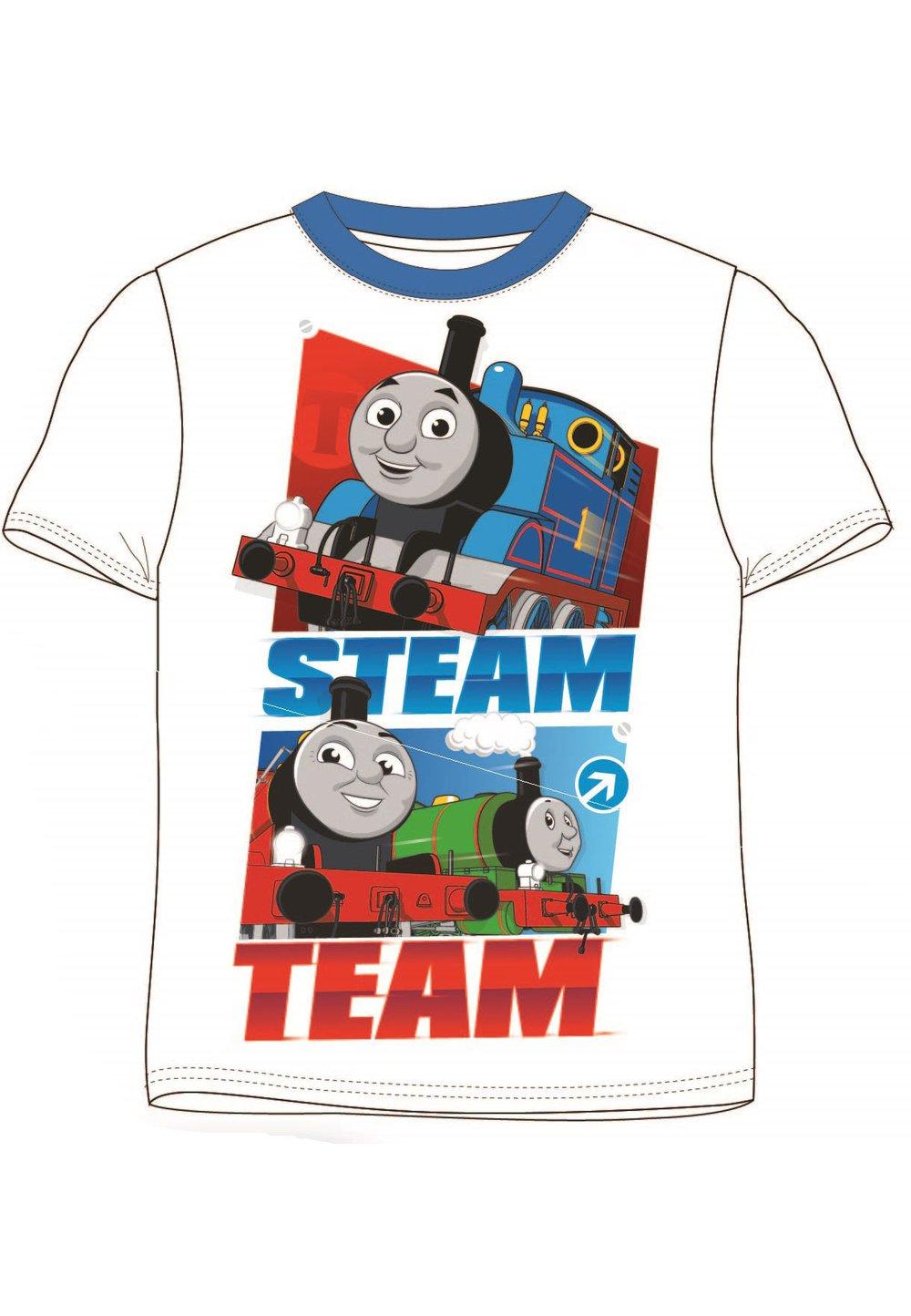 Tricou, Steam, Thomas, alb imagine