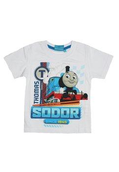 Tricou Thomas, alb, Since 1945