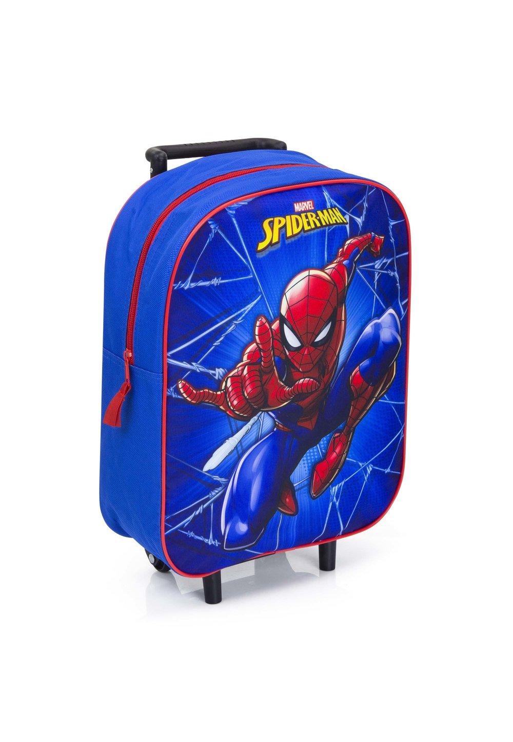 Troller Spider Man, albastru, 39 x 30 x 13 imagine