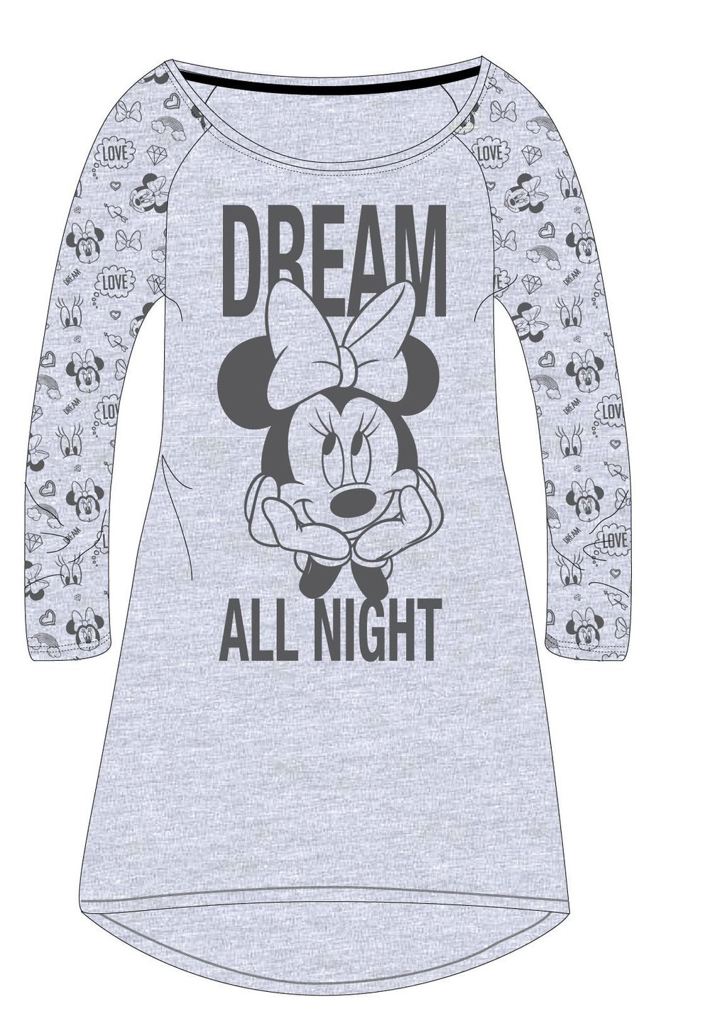 Tunica, dream all night, gri imagine