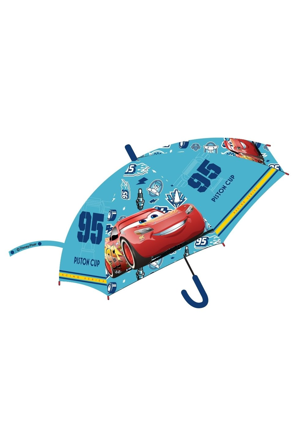 Umbrela automata, turcoaz, Piston cup imagine