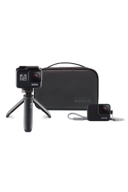 GoPro HERO7 Black + Travel Kit (Shorty, Lanyard, Gentuta)