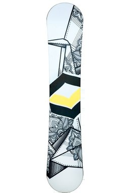 Placa Snowboard FTWO Whitedeck Wood 906200