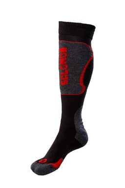 Salomon Ski New Cart Socks Black/Red