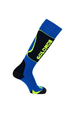 Salomon Ski New Kart Socks Blue/Yellow JR