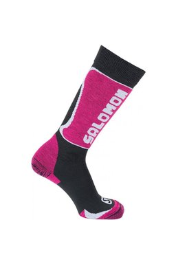 Sosete Copii Salomon Ski New Kart Socks Pink JR