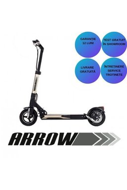 Trortineta Electrica Arrow Adasmart E-scooter Silver