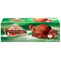 Biscuiti cu crema de ciocolata si alune papagena 150gr