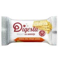 Biscuiti digesta chimen,chia,canepa,quinoa 34g