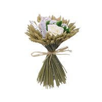 Buchet natural alb