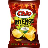 Chio Chips Intense Sourcream & Herbs 95g