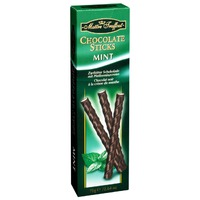 Chocolate sticks mint Maitre Truffout 75gr