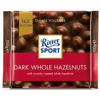 Ciocolata amaruie cu alune  Ritter Sport 100gr