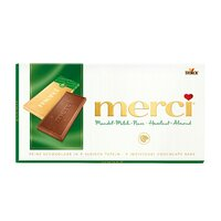 Ciocolata Merci tableta alune, migdale 100gr