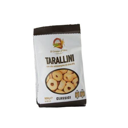 Covrigei sarati Tarallini Grano D'oro 100gr