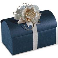 Cufere cadouri mari Juta blu 380*230*250mm