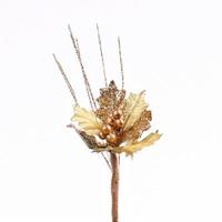 Floarea Craciunului cu glitter
