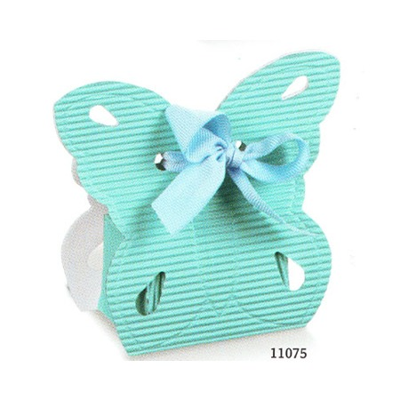 Marturie botez fluture bleu
