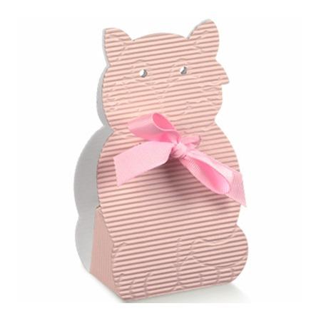 Marturie botez pisica roz