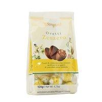 Praline de ciocolata cu ghimbir in forma de oua Vergani 120gr