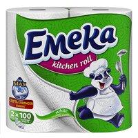 Prosoape de hartie Emeka White 2 role