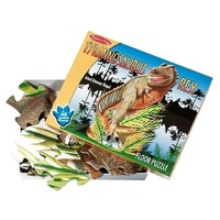 Puzzle de podea T-Rex Melissa and Doug