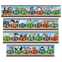 Puzzle gigant de podea Alfabet Express Melissa and Doug